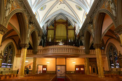 Our Lady of Victories Church, Boston, USA Stock Photo