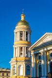 Our Lady of Vladimir Church in Saint Petersburg. Russia Royalty Free Stock Photos