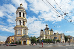 Our Lady of Vladimir Church Royalty Free Stock Images