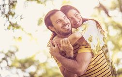 Our love is as strong as the universe royalty free stock images