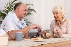 Our love won't age at all Stock Photography