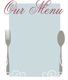 Our Menu Stock Images