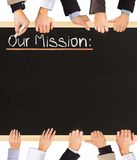 Our Mission Stock Image