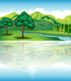 Our natural land and water resources royalty free illustration