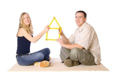 Our New Home royalty free stock photos