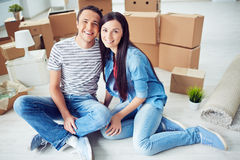Our new home Stock Image