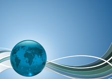 Our own Earth. Symbol of Royalty Free Stock Photography