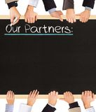 Our Partners Stock Image