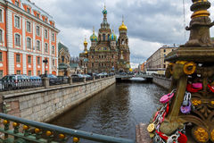 Our Saviour on Spilled Blood in St. Petersburg Royalty Free Stock Image