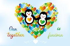 Our together is forever Royalty Free Stock Photography