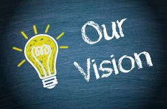 Our vision background royalty free stock photography