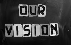 Our Vision Concept Stock Image