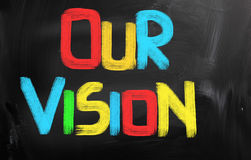 Our Vision Concept Stock Photography
