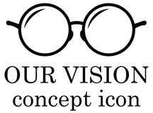 Our vision icon Stock Photos
