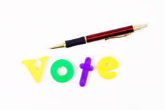 Our Vote Royalty Free Stock Photos