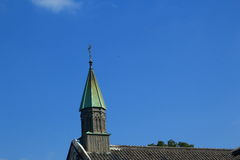 Oura Catholic Church of nagasaki. The oldest church ride and landscape in Nagasaki, Japan Stock Photography