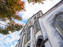 Oura Church In Autumn Royalty Free Stock Image