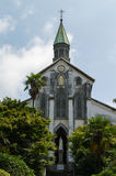 Oura Church, Nagasaki Japan. Oura Church, one of the Churches and Christian Sites in Nagasaki, a group of thirteen sites in Nagasaki Prefecture and Kumamoto Royalty Free Stock Photo