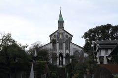 Oura kyrka i Nagasaki arkivfoton
