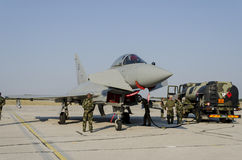Ouragan d'Eurofighter Image libre de droits