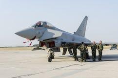 Ouragan d'Eurofighter Photo libre de droits