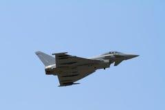 Ouragan d'Eurofighter photo stock