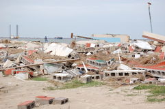 ouragan de dommages image libre de droits