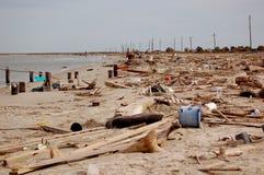 ouragan de dommages Photos libres de droits