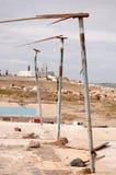 ouragan de dommages Photos stock