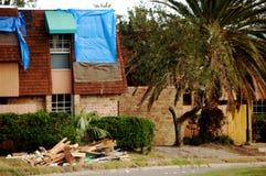 ouragan de dommages photographie stock libre de droits