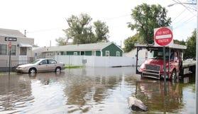 Ouragan Irene Photos libres de droits