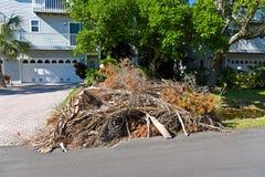 Ouragan Irma Cleanup Photo libre de droits