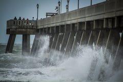Ouragan Irma Remnants Photo libre de droits