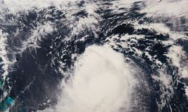 Ouragan Jose photographie stock