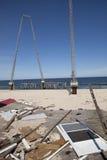 Ouragan Sandy Damage photographie stock libre de droits