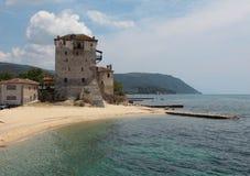 Ouranopolis. Griekenland. Stock Afbeelding