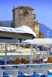 Ouranoupoli port Greece Royalty Free Stock Photo