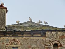 Ouranoupolis Athos berg Chalkidiki Grekland Royaltyfria Bilder