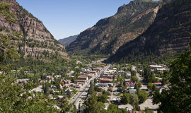 American mountain town Stock Photo