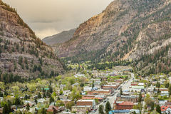 Ouray Panorama Royalty Free Stock Photo
