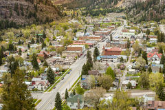 Ouray Panorama Royalty Free Stock Image