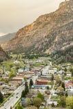 Ouray Panorama Stock Photo