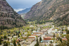 Ouray Panorama Stock Images