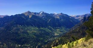 Ouraybergen Colorado stock afbeeldingen