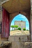 Ourem Castle Στοκ φωτογραφίες με δικαίωμα ελεύθερης χρήσης