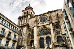 Ourense cathedral stock photos