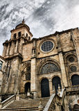 Ourense cathedral royalty free stock photos