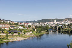 Ourense, Galizien, Spanien Lizenzfreies Stockbild