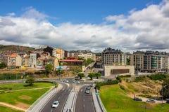 Ourense miasto fotografia stock