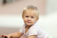 Ourfoor portrait of  toddler Royalty Free Stock Photos